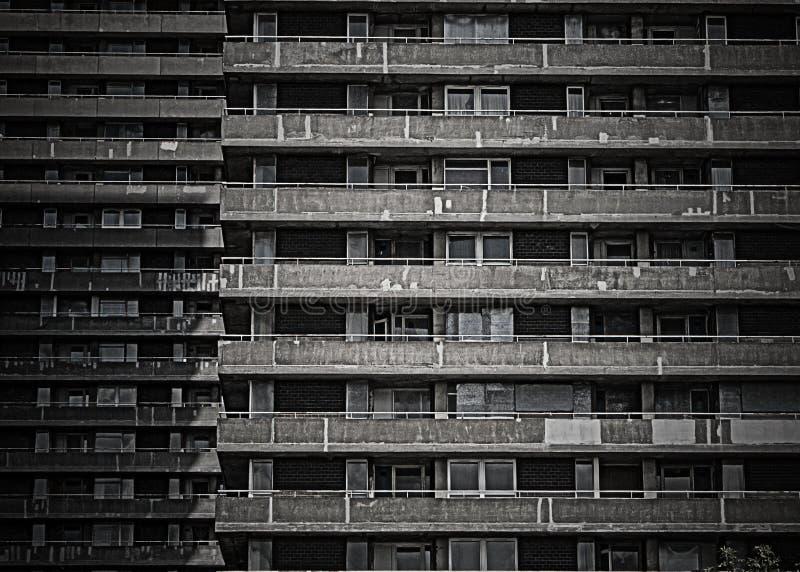 De woningbouw van de verlaging stock afbeeldingen