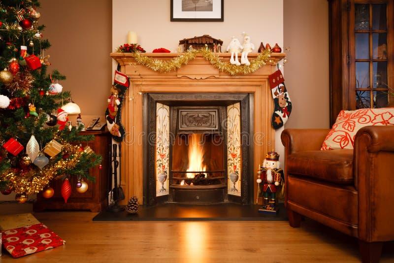 De woonkamer van Kerstmis