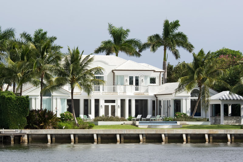 De woonplaats van de luxe royalty-vrije stock foto