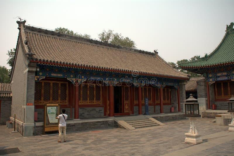 De woonplaats van de prinsgong, Peking, China royalty-vrije stock afbeelding