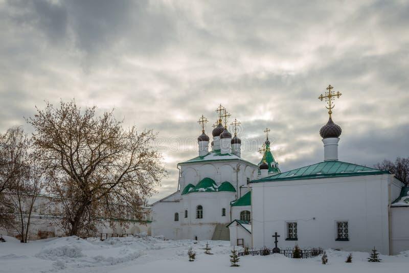 De woonplaats van Ivan Grozny tsar's in het Alexandrovskaya-dorp, V stock foto