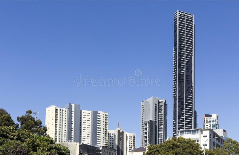 De Woontoren van Brisbane royalty-vrije stock fotografie
