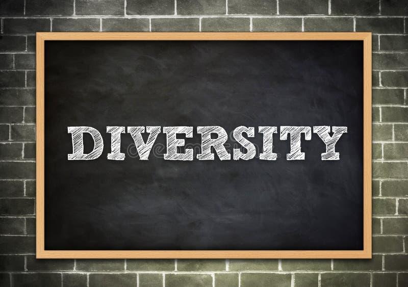 De woorddiversiteit royalty-vrije illustratie