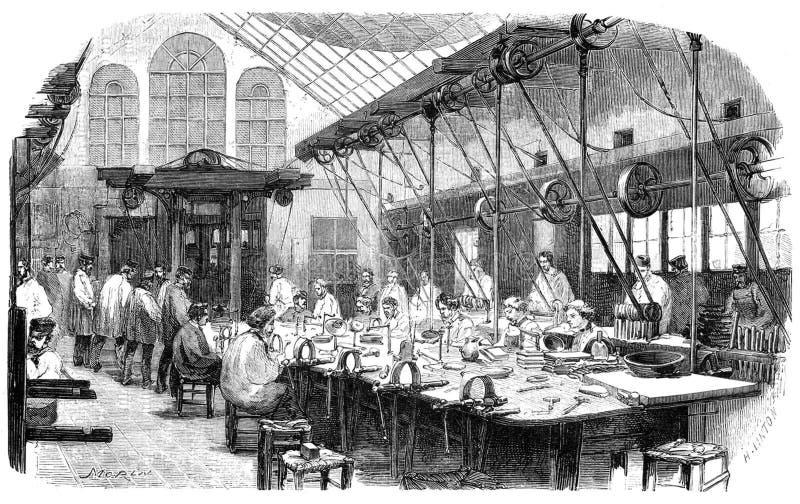 De Workshop van Christoflesilversmith's royalty-vrije stock afbeelding