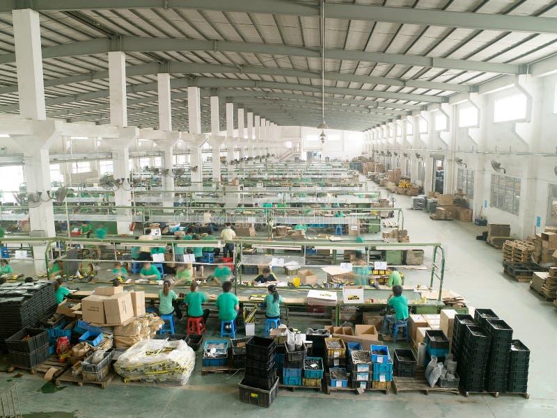 De workshop van de fabriek stock fotografie