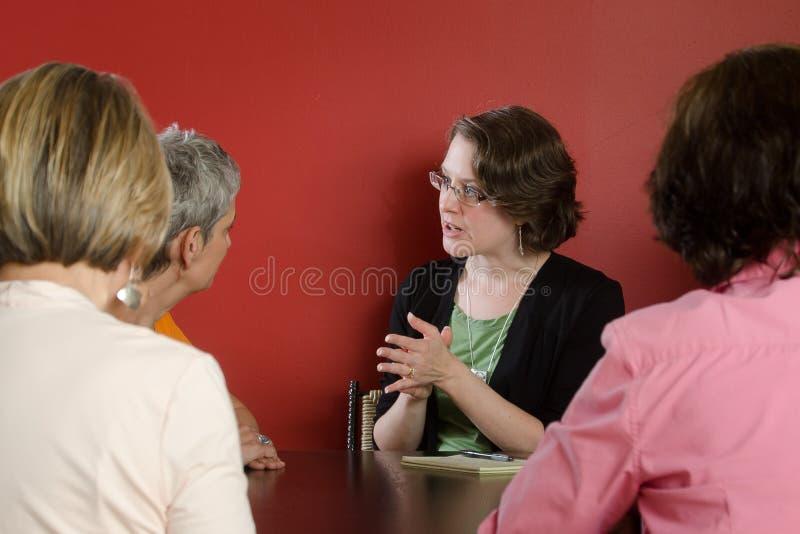 De Workshop van vrouwen stock foto's