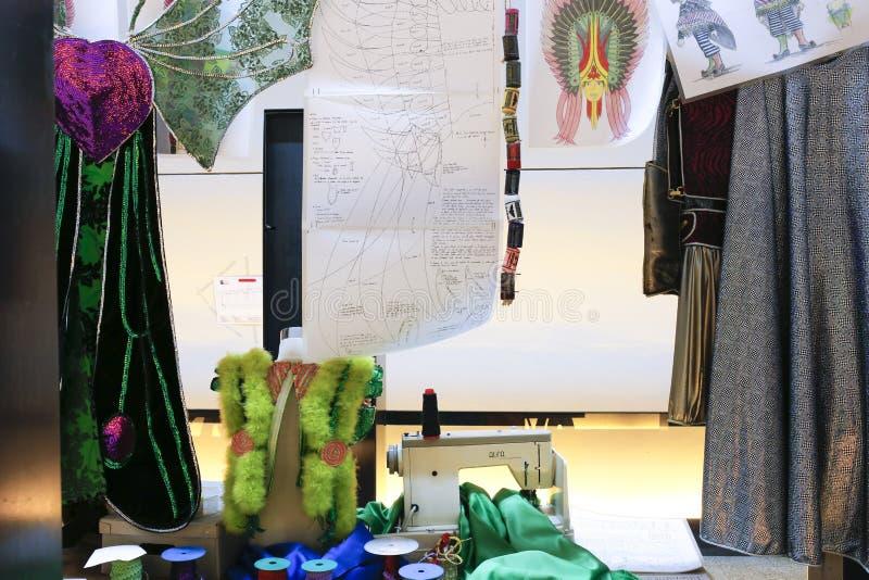 De workshoprecreatie van het vermommingskostuum royalty-vrije stock afbeelding