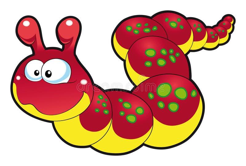 De Worm van de baby stock illustratie