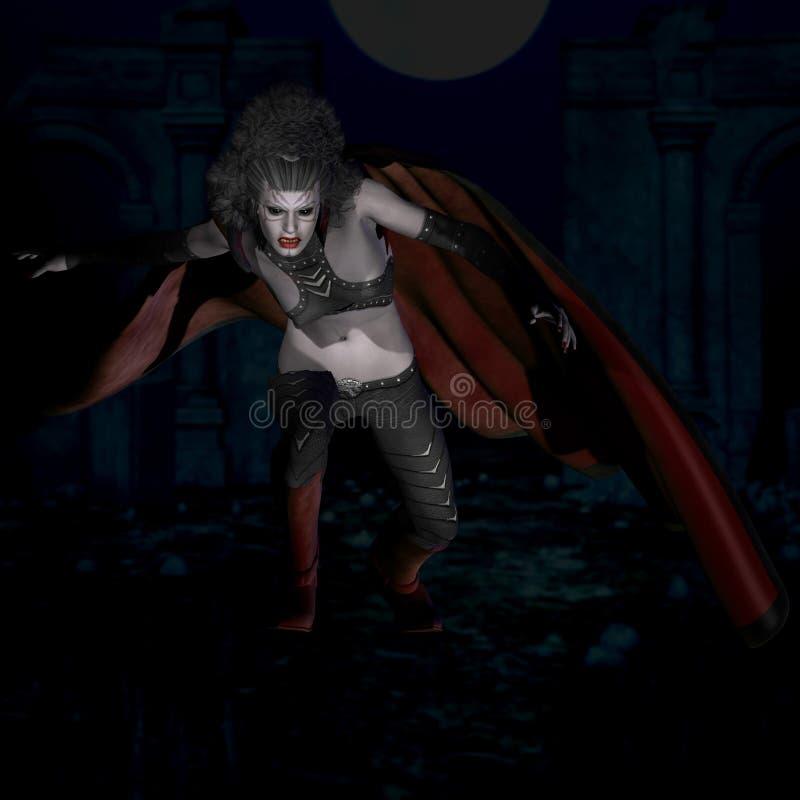 De Wreker van de middernacht #02 royalty-vrije illustratie