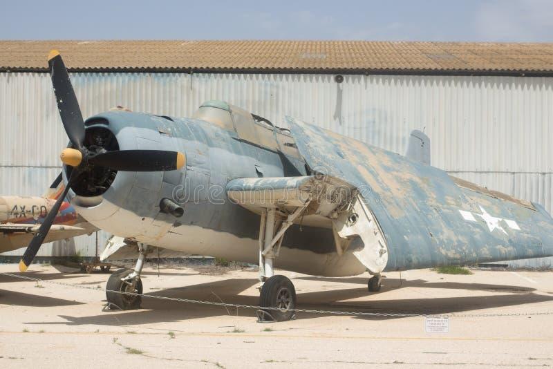 De Wreker van Grumman TBF van de torpedobommenwerper royalty-vrije stock afbeelding