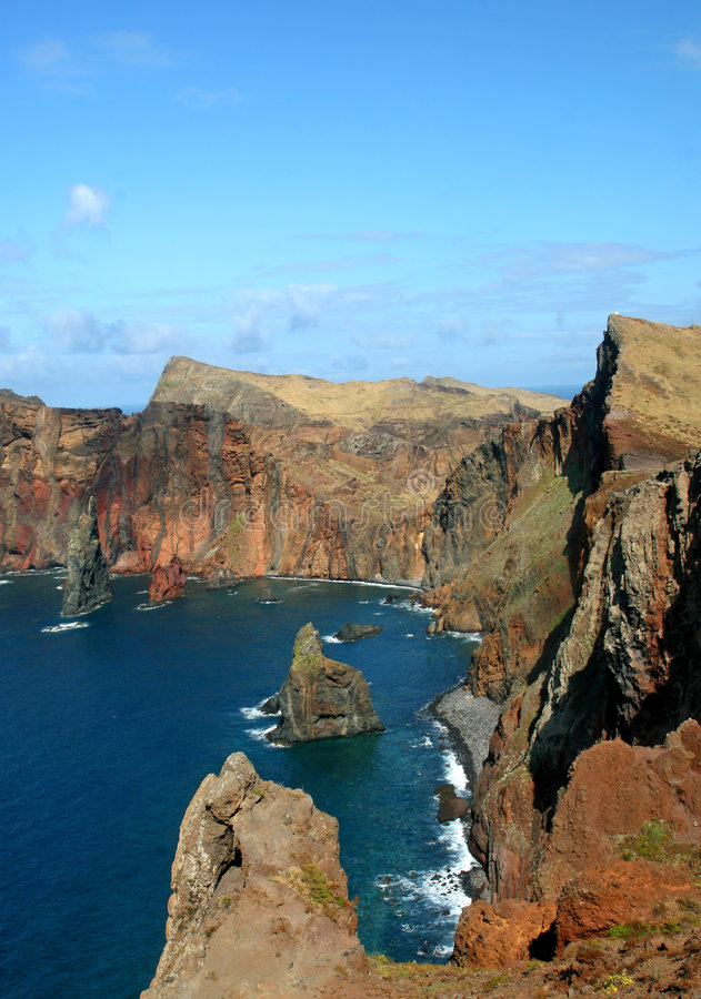 de Wyspa louren o Madeira ponta sao fotografia royalty free