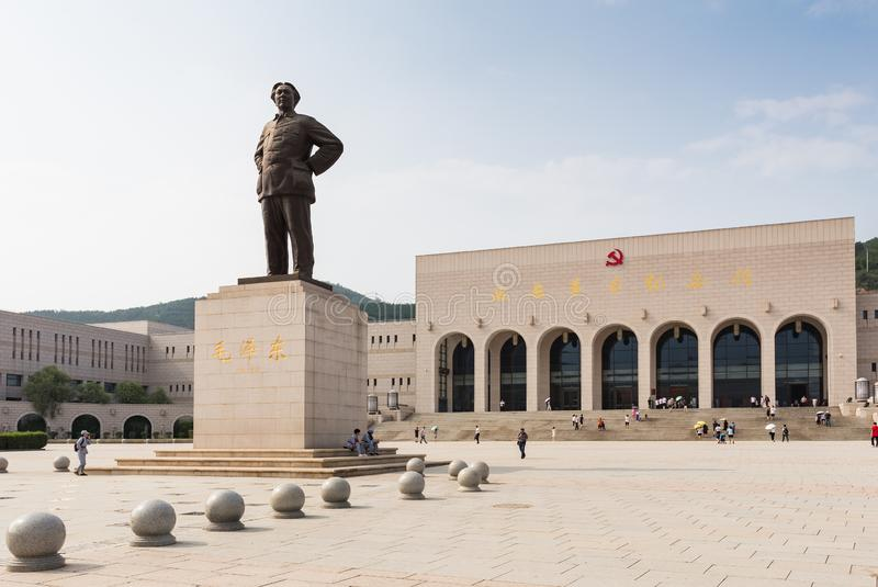 ` De Yan Memorial Hall révolutionnaire de la Chine photographie stock