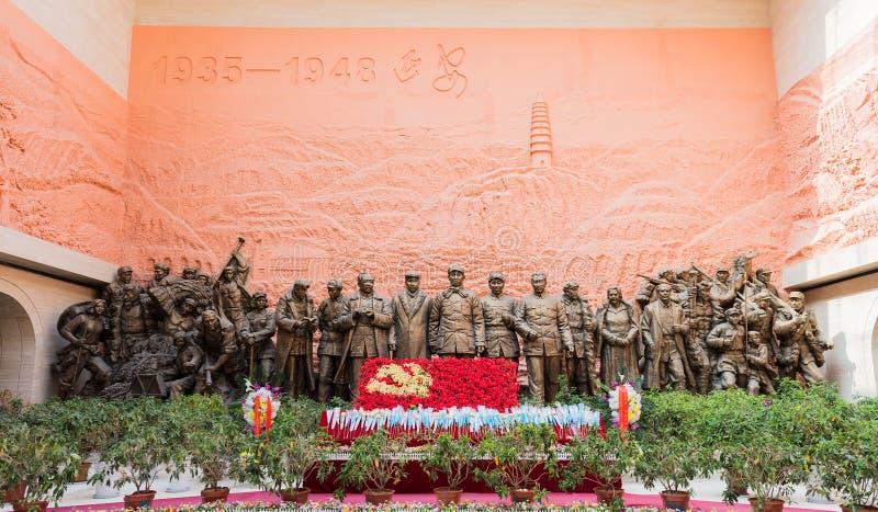 ` De Yan Memorial Hall révolutionnaire de la Chine images stock