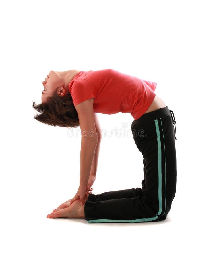 De yoga stelt royalty-vrije stock foto's