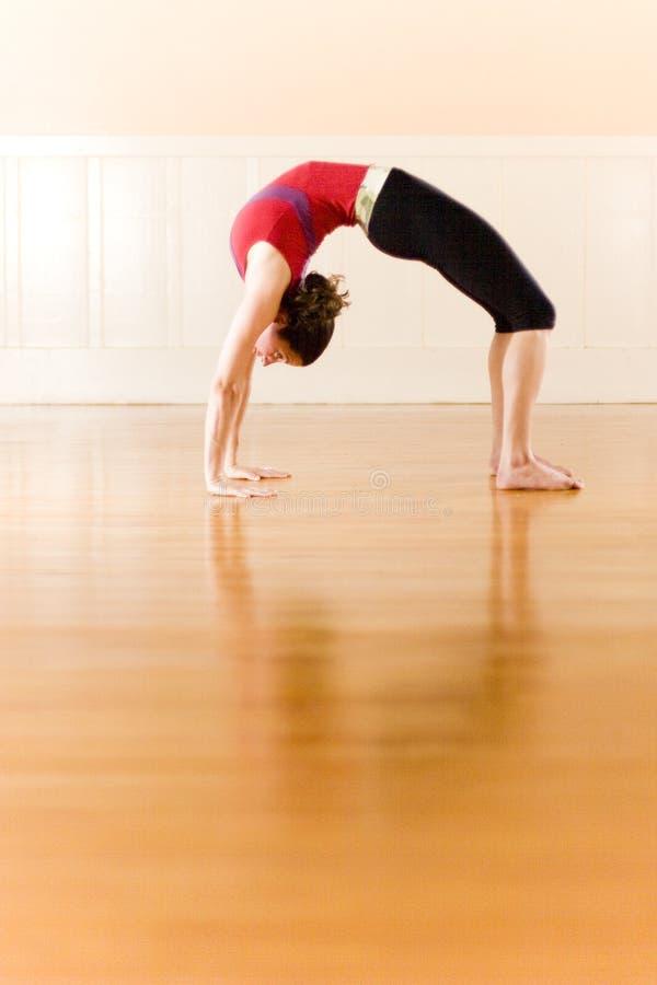 De yoga stelt royalty-vrije stock afbeelding