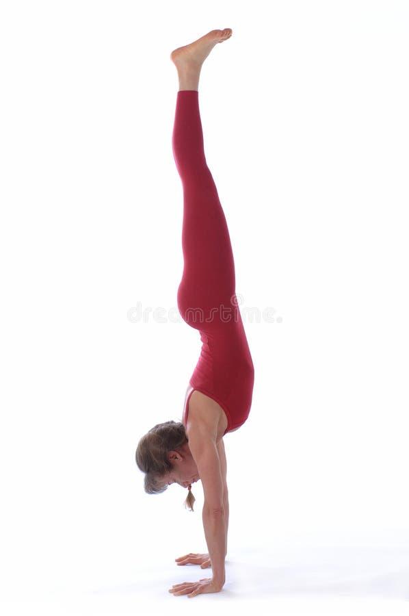 De Yoga van de studio royalty-vrije stock fotografie