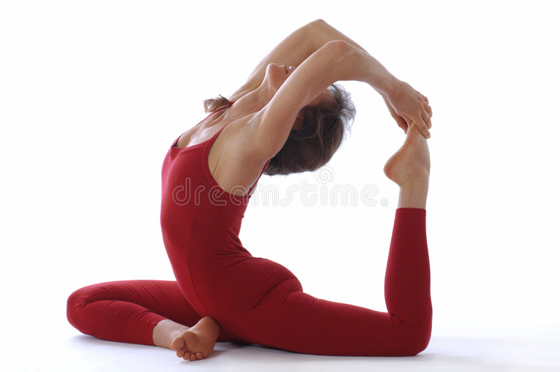 De Yoga van de studio royalty-vrije stock afbeeldingen