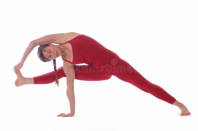 De Yoga van de studio stock afbeeldingen
