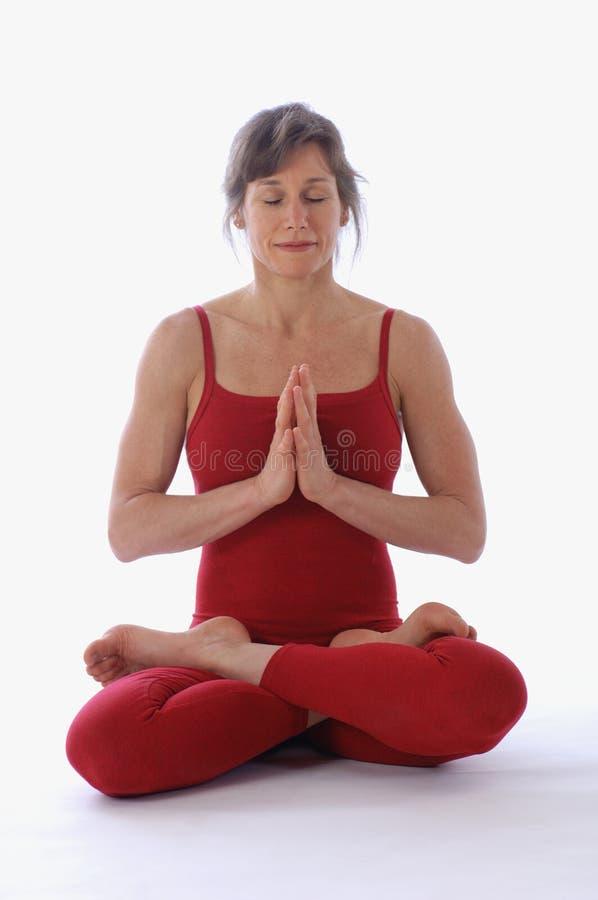 De Yoga van de studio stock foto's