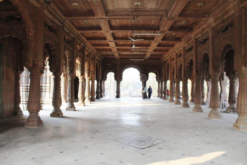 De zaal aan de tempel royalty-vrije stock foto's