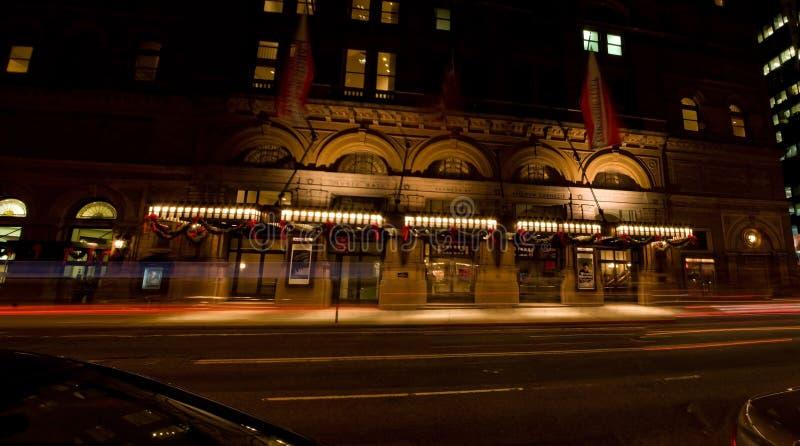 De Zaal van Carnegie stock afbeeldingen