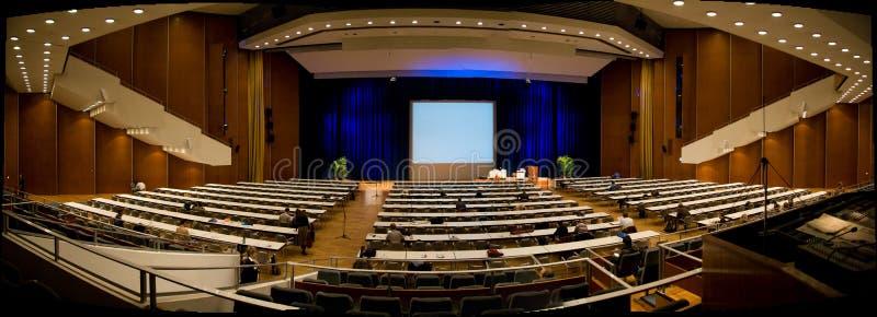 De Zaal van de conferentie royalty-vrije stock foto's