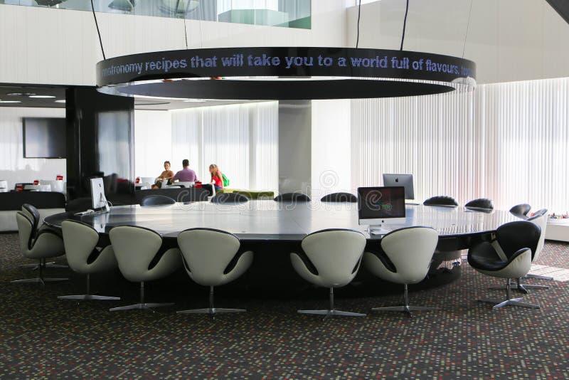 De Zaal van de hotelvergadering royalty-vrije stock fotografie
