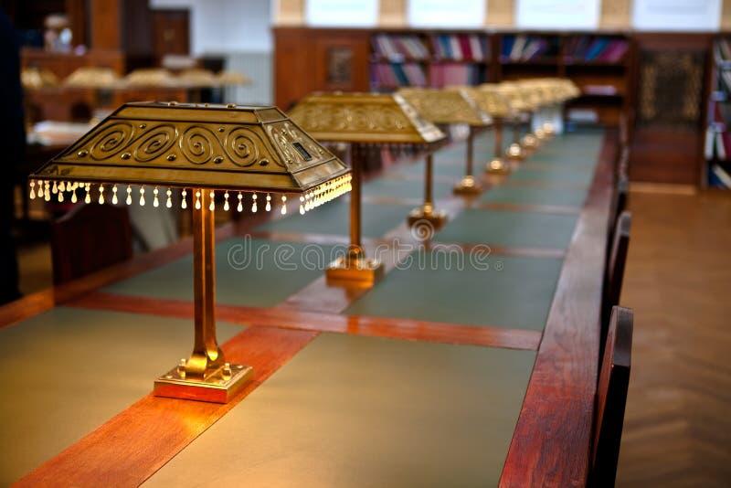 De Zaal van de Lezing van het archief royalty-vrije stock fotografie