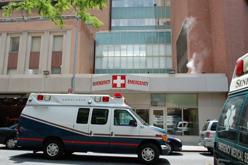 De Zaal van de Noodsituatie van het ziekenhuis royalty-vrije stock afbeelding