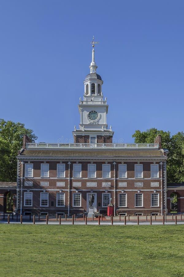 De Zaal van de onafhankelijkheid, Philadelphia royalty-vrije stock fotografie