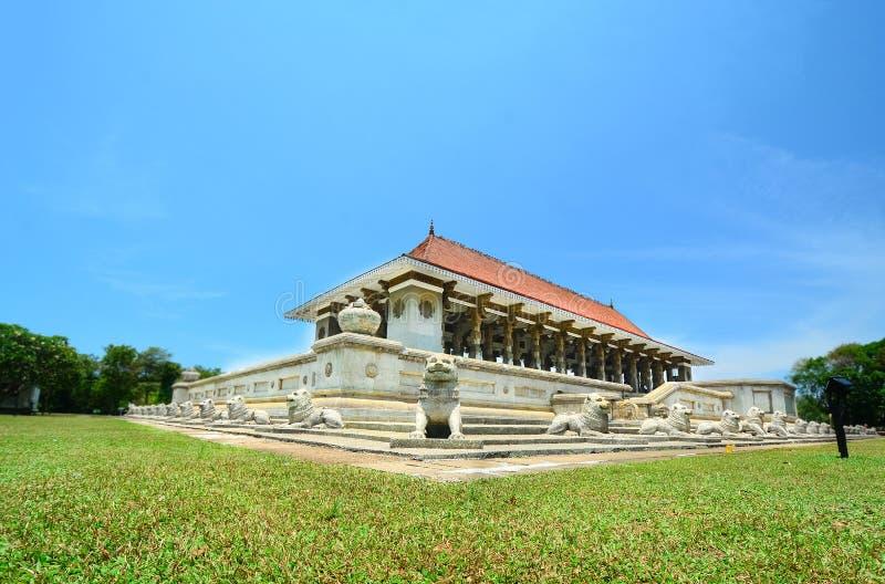 De Zaal van de onafhankelijkheidsherdenking, Sri Lanka royalty-vrije stock foto's