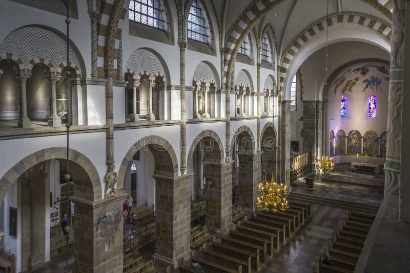 De Zaal van de Ribekathedraal royalty-vrije stock afbeeldingen