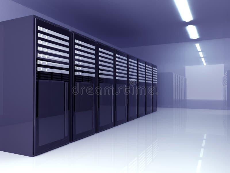 De Zaal van de server royalty-vrije illustratie