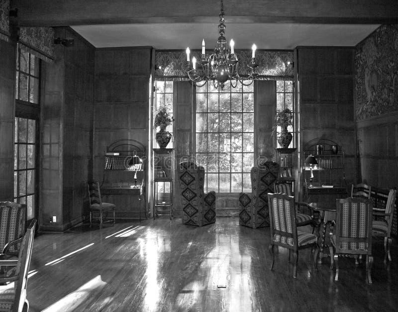 De Zaal van de studie stock afbeelding