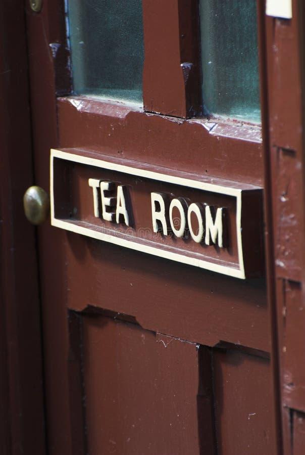De Zaal van de thee stock afbeeldingen