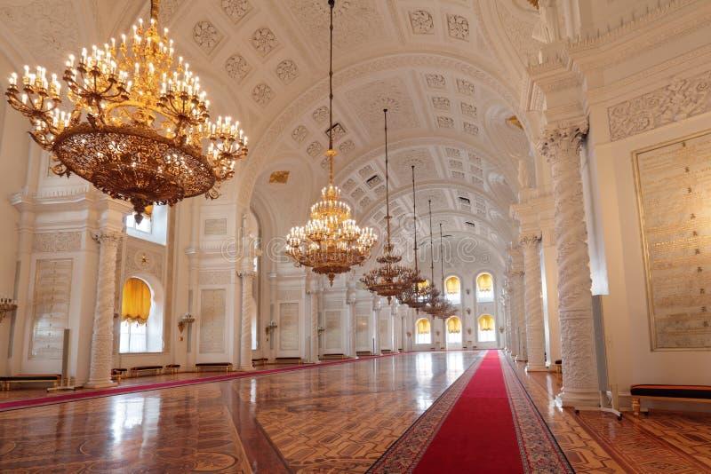 De zaal van Georgievsky royalty-vrije stock fotografie