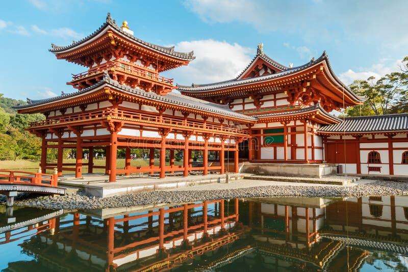 De Zaal van Phoenix van byodo-in Tempel in Kyoto royalty-vrije stock fotografie