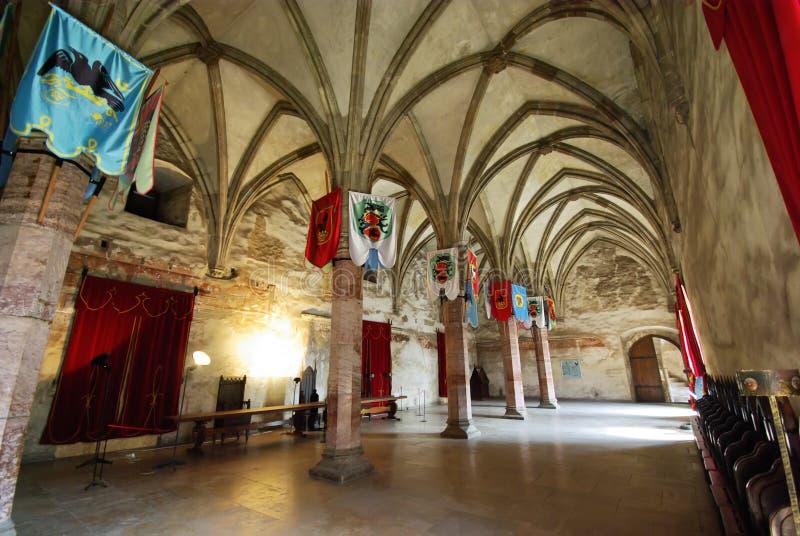 De zaal van ridders royalty-vrije stock afbeelding