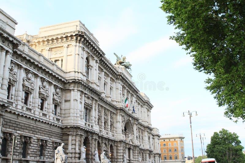De Zaal van Rome van Rechtvaardigheid stock foto's