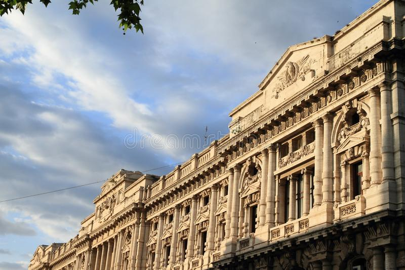 De Zaal van Rome van Rechtvaardigheid stock fotografie