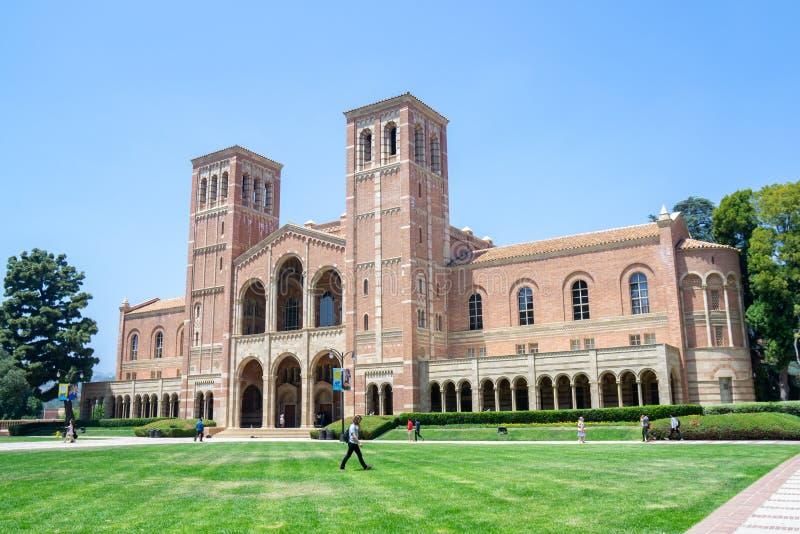 Royce Hall, UCLA stock afbeelding