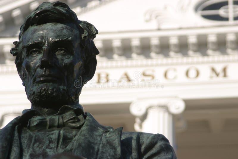 De zaal verlaten Lincoln van Uw bascom royalty-vrije stock afbeelding