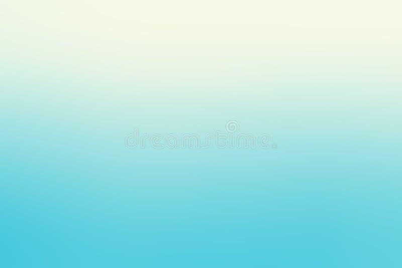 De zachte blauwe witte lichte abstracte banner van de gradiënt vlotte kleur, t royalty-vrije stock afbeelding