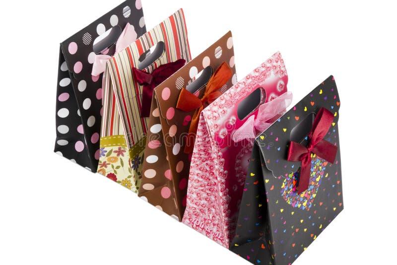 De zak van de gift royalty-vrije stock foto