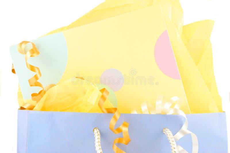 De zak van de gift stock afbeeldingen