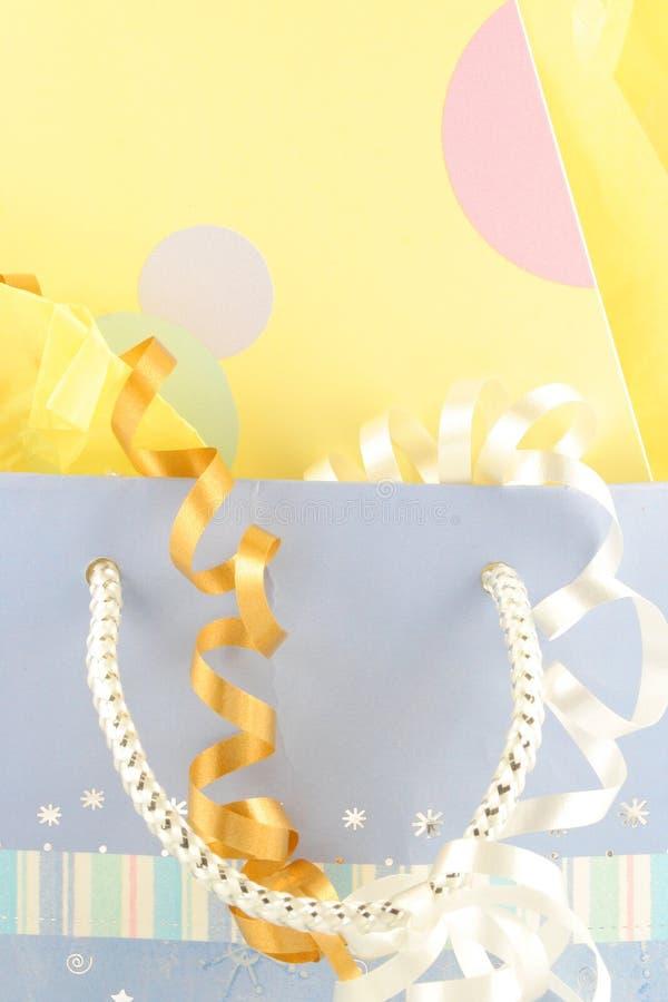 De zak van de gift stock afbeelding