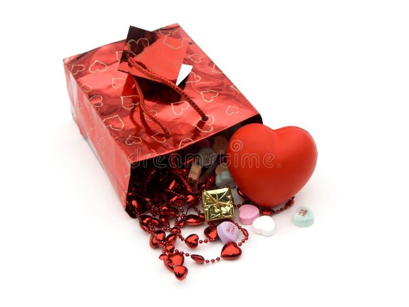 De zak van de gift, stelt 3 voor royalty-vrije stock afbeeldingen