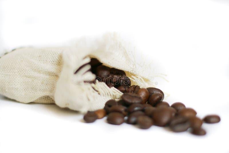 De zak van de koffie stock fotografie