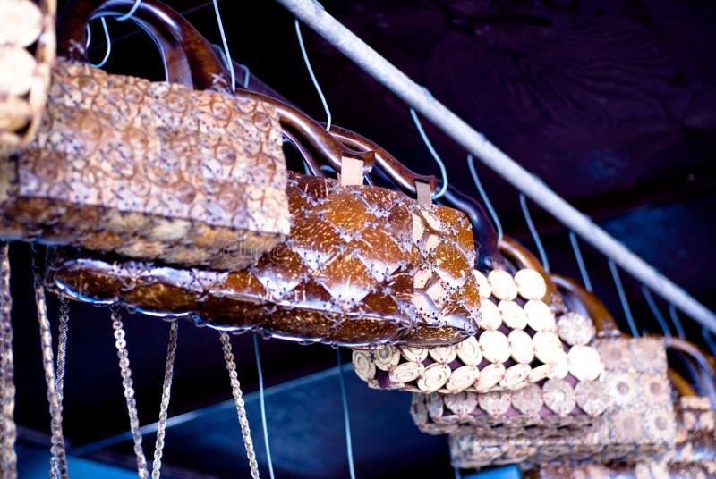 De zak van de kokosnoot royalty-vrije stock afbeelding