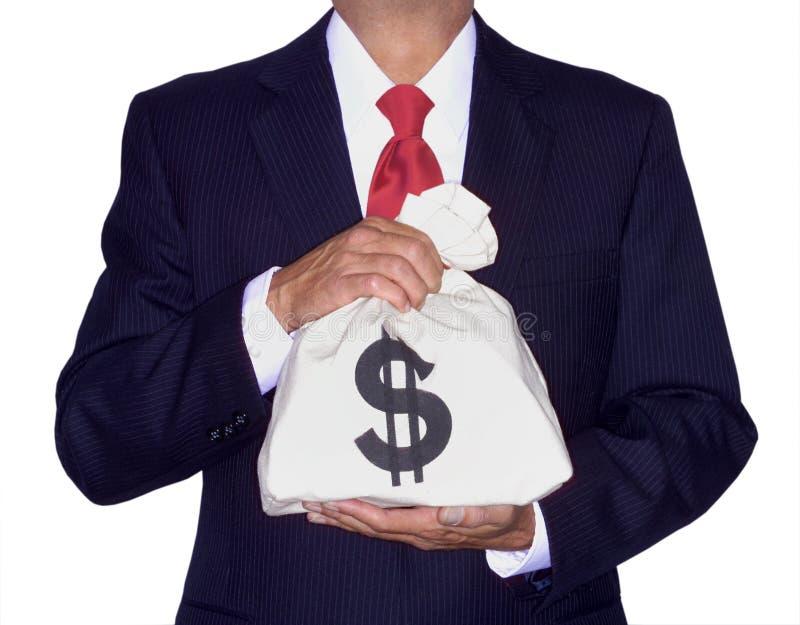 De zak van het geld royalty-vrije stock foto